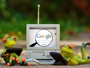 frogs and google
