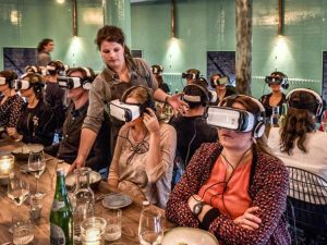 virtual reality food industry