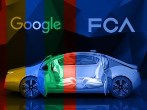 Google & Fiat Chrysler Team up