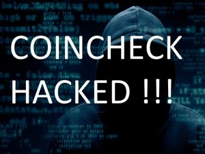 inscription Coincheck hacked!!!