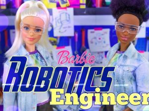 Barbie robotics engineer