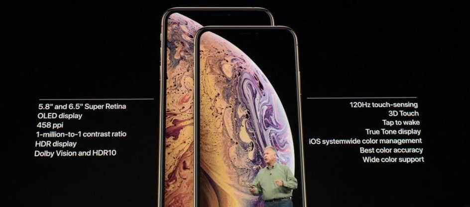 iPhone XS Max, IPhone XS