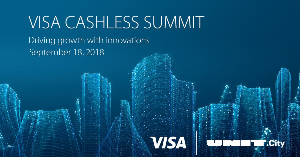 Visa проведе в UNIT.City третій Visa Cashless Summit